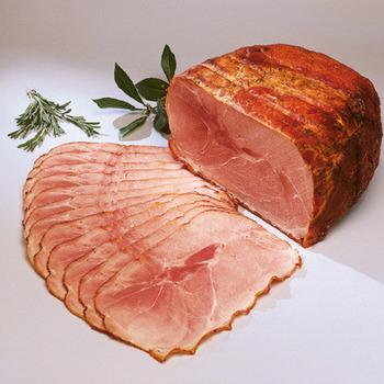 Prosciutto arrosto griglia con herbe / Italiaanse kruidenham-ja